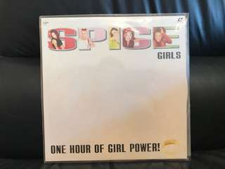 SPICE girls - one hour of girl power Laser Disc