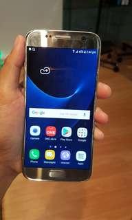 Samsung S7 32gb with amoled burn unti