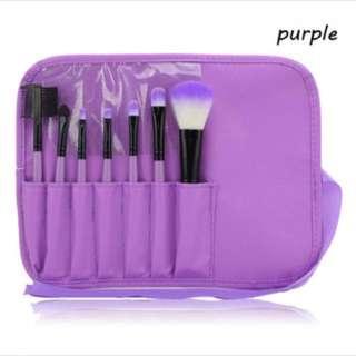 BNIB 7-Piece Make Up Unicorn Brush Set (Purple)