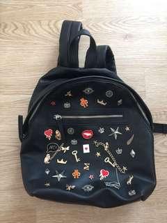 Stradivarius Enamel Pin Backpack