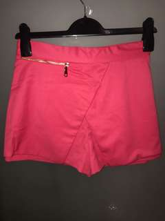 River Island Pink Shorts with Zipper 6