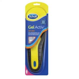 40% Off Brand New in Pack -Scholl Gel Activ Insoles -Work (Female) 1 Pair