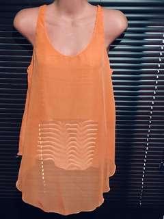 Orange See thru