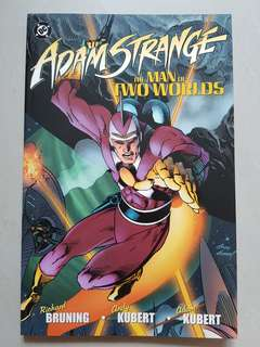 ADAM STRANGE: The Man of Two Worlds