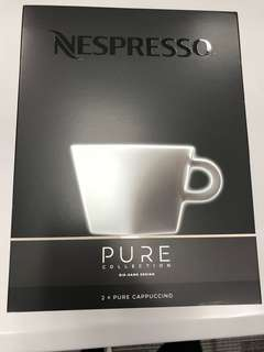 Nespresso Pure Collection 咖啡杯