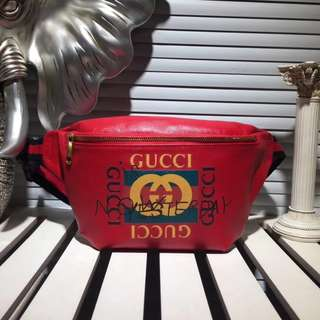 Gucci Coco Capitán Waist Bag (Red)