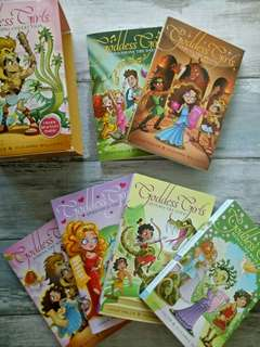 Goddess Girls Series by Joan Holub and Suzanne Williams