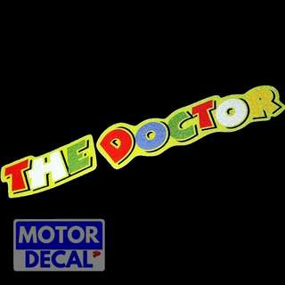 The doctor Reflective decal