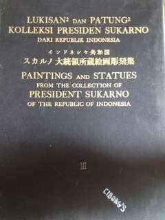 """Jual Cepat Buku Lukisan"""" dan patung"""" koleksi presiden soekarno"""
