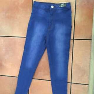 Girls Blue Jeans Size 9-10