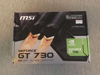 MSI GT 730 (Graphics Card)