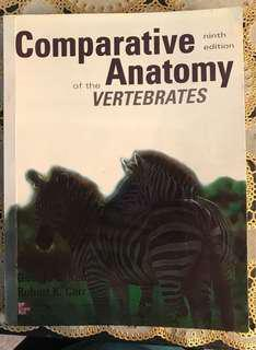 Comparative Anatomy Books