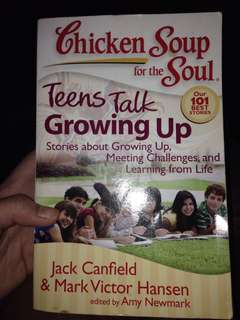Chicken soup for the soul teens talk