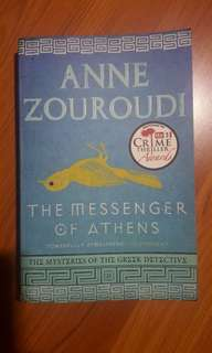 THE MESSENGER OF ATHERNS by Anne Zouroudi