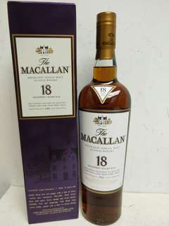 Macallan Single Malt Aged 18 Years Scotch Whisky 麥卡倫18年 1995年 700ml