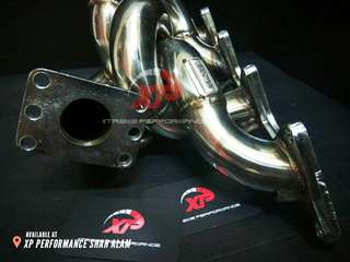 Header Turbo JASMA for NISSAN banana exhaust Silvia sr20