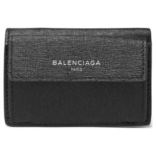 Balenciaga Wallet Textured Black