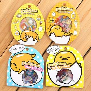 🚚 PO] Preorders - 60pcs Gudetama Cute Little Stickers @ $2 per pack only!!!