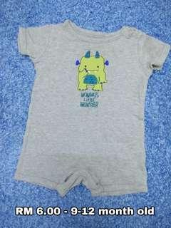 9-12 month old - Romper Baby Girl Boy