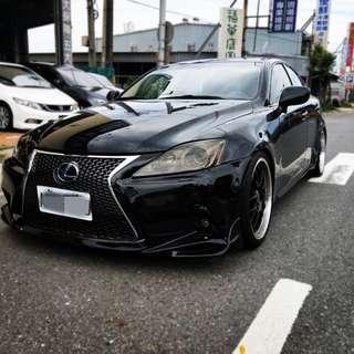 FB搜尋【小惟優質汽車】熱門車中古車二手車 凌志 2007年 IS250 頂級