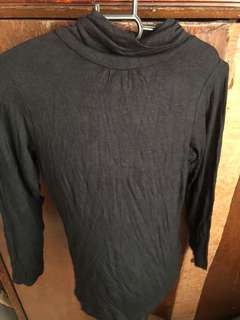 Kids black turtleneck