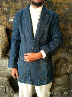 Jas Berbahan Jeans Original