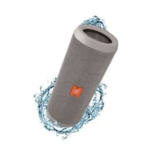 JBL by Harman FLIP 4 Waterproof IPX7 Bluetooth 4.2 SPEAKER GREY ONLY 防水藍芽喇叭