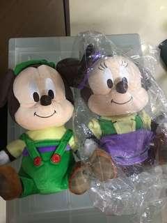 Changi Airport Mickey n Minnie