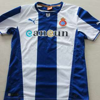 Espanyol Football Soccer Shirt Jersey La Liga 2013-2014 Size M