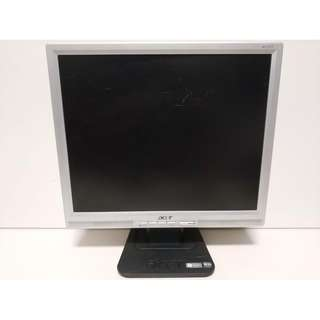 尚典中古3C(二手3C)~中古液晶螢幕(螢幕)宏碁17吋液晶螢幕 型號:AL1717A