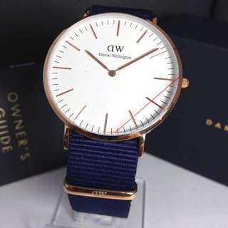 Daniel Wellington Bayswater 40mm rosegold white original