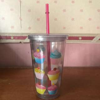 Cupcake Drink Cup