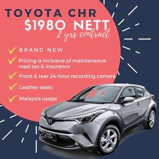 Toyota CHR 1.8 S Hybrid (Brand New)