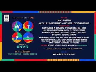 WE THE FEST EARLY ENTRY 3 days pass