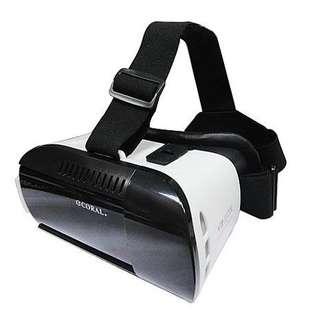 🚚 全新CORAL 3D頭戴式立體眼鏡VR3出清