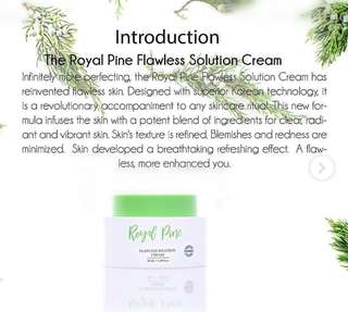 🚚 READY STOCK💕ALYLA ROYAL PINE FLAWLESS SOLUTION CREAM / 50ml.  Processing proceed upon full payment received via bank transfer