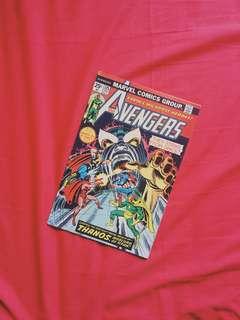 Vintage comic. Marvel Avengers