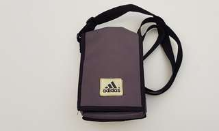 Adidas Vintage 1990s  Bag Canvas Side/Bum Bag FREE POST!