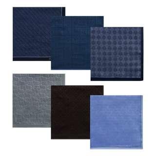 Premium Men's Printed Handkerchief Set D