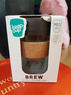 Keepcup Brew glass coffee cup