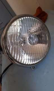 Cafe racer bobber brat headlight