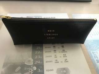 韓國皮質筆袋
