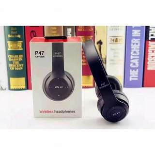 P47 WIRELESS HEADPHONE