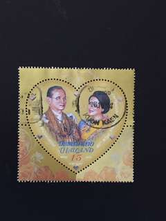 Thailand 2010 The Royal Wedding Anniversary 1V Used