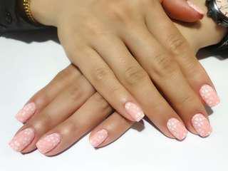 (特價時段)$120 gel nail promotion