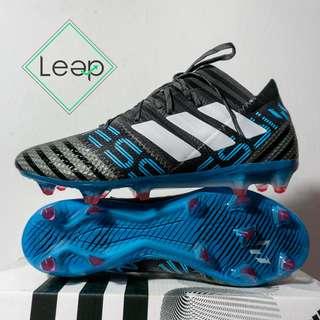 Sepatu Bola Adidas Nemeziz 17.1 Black Blue