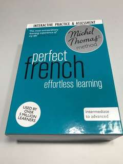 Price Reduced 🌈Perfect French interactive & Assignment by Michel Thomas.