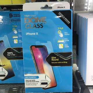 🚚 Iphone x whitestone dome glass available in store!