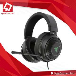Razer Kraken 7.1 V2 - Digital Gaming Headset (Black / Mercury White / Gunmetal Grey)