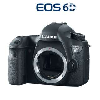 🛒NEW Canon EOS 6D Body DSLR Camera